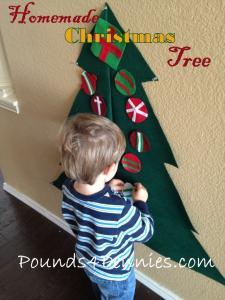 Homemade Christmas Tree: From Felt