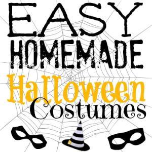 Easy Homemade Halloween Costume Ideas