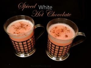Creamy Spiced White Hot Chocolate Recipe