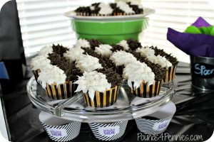 How to Make Cruella De Vil Cupcakes