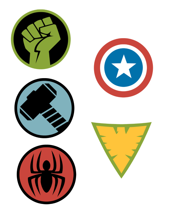 Disney Hero Stickers
