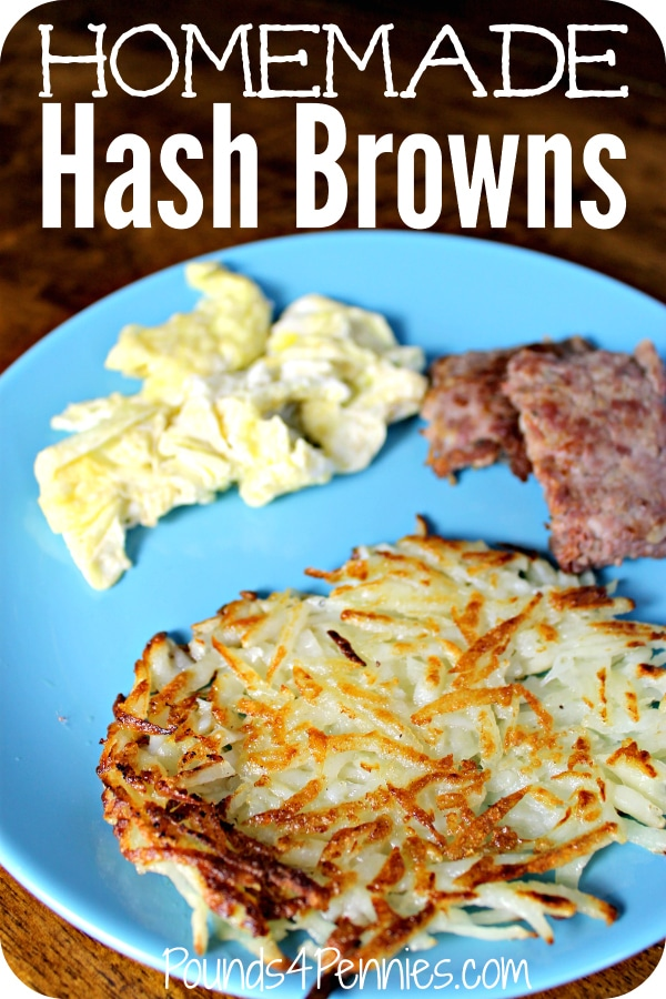 Homemade HashBrowns Recipe