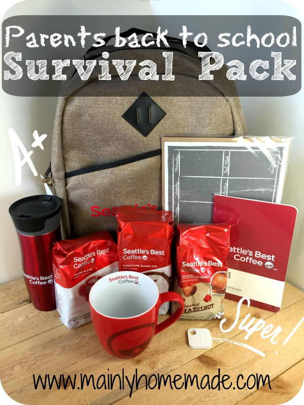 Back to School Survival Guide For Parents Prize