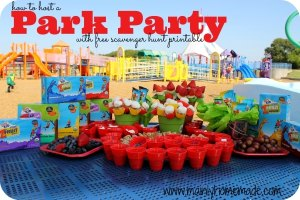 How to Host a Park Party