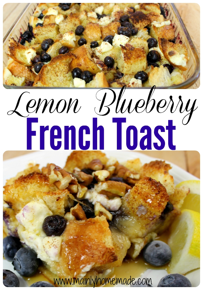 Lemon Blueberry French Toast Recipe