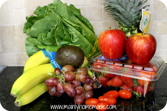 Fruits and Veggies for Smoothies