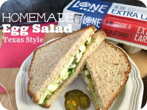 The Best Homemade Egg Salad – Texas Style