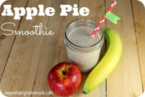 The Best Apple Pie Smoothie