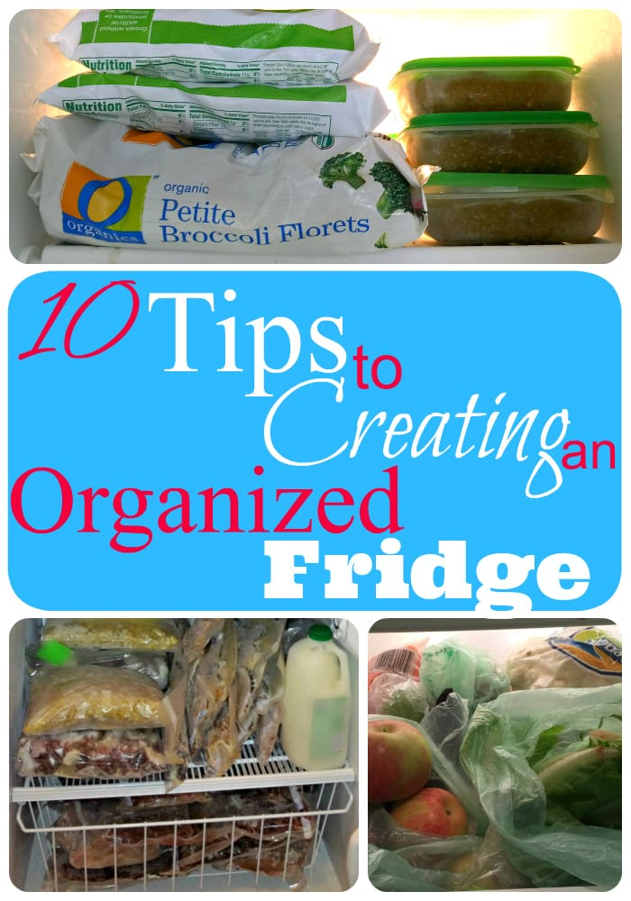 10 tips to creating an organized fridge that works
