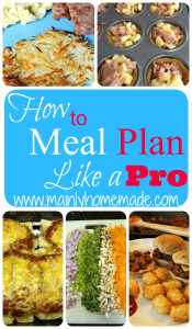 How to Meal Plan Like a Pro in 7 Easy Steps (Day 10)