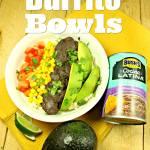 Easy Fiesta Meatless Burrito Bowls 2