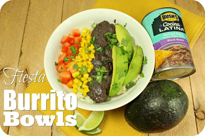 Fiesta Meatless Burrito Bowls