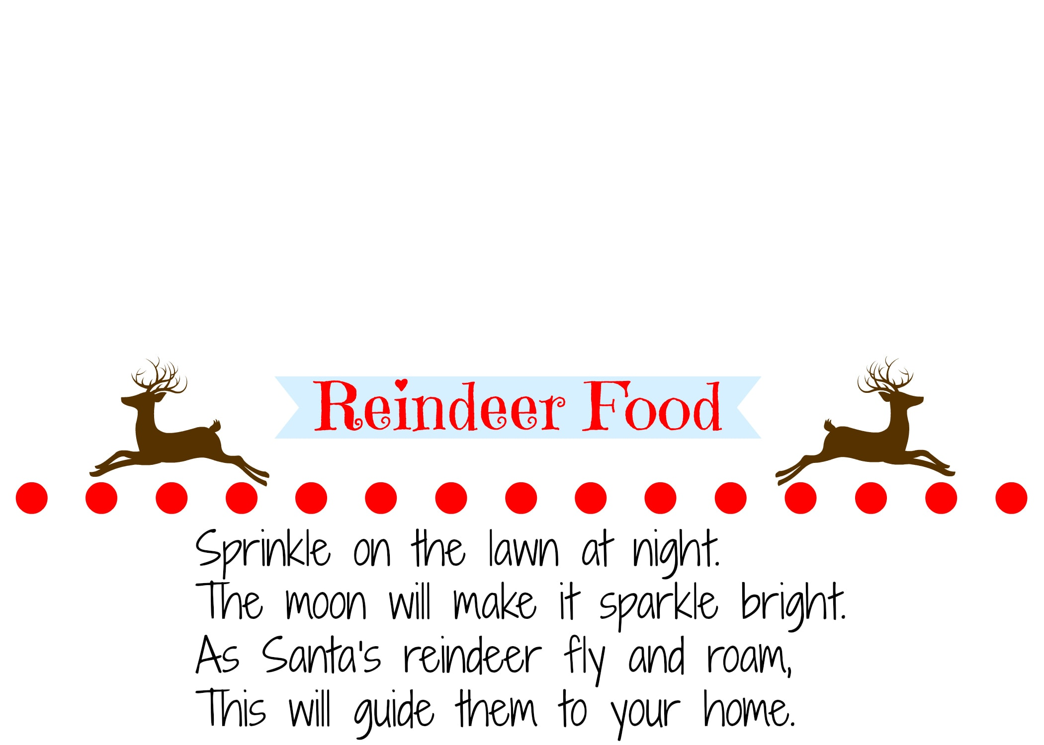 Homemade Reindeer Food Recipe