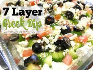 7 Layer Greek Dip Recipe