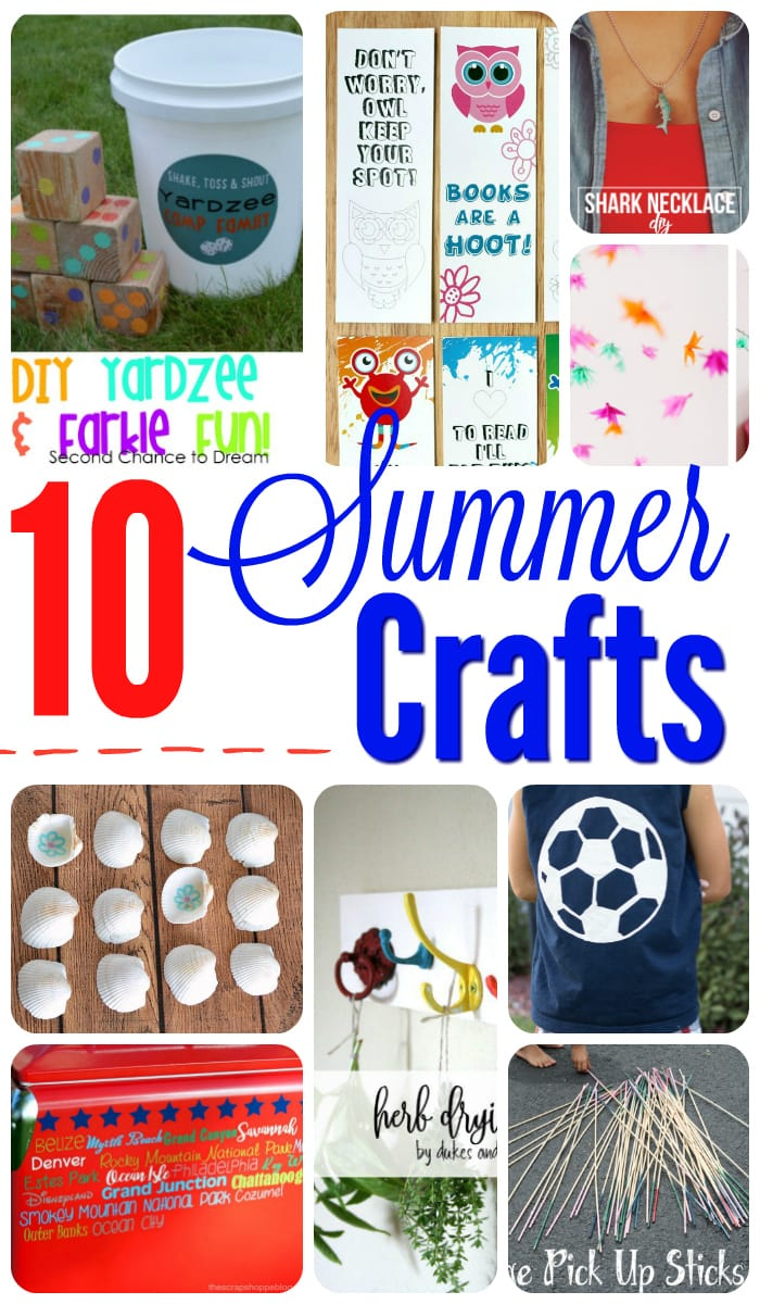 10 Summer Crafts to make