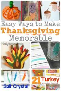 Brilliant Ideas to Make a Memorable Thanksgiving