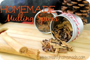 homemade mulling spice recipe mix