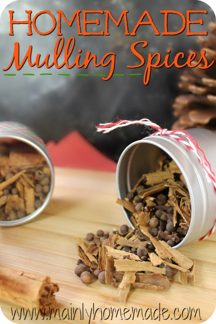 homemade mulling spice recipe