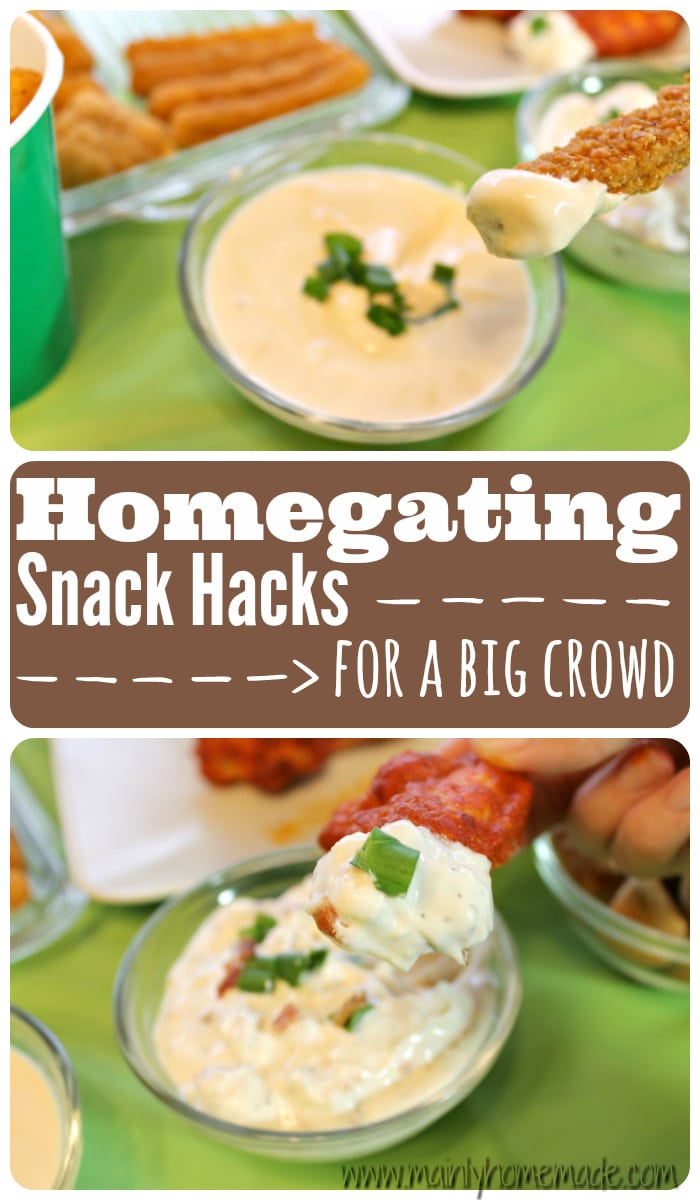 snack hacks for a big crowd