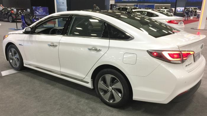 DFW Auto Show Hyundai Ioniq