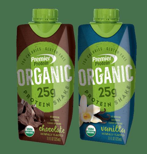 Premier Protien Organic Flavors