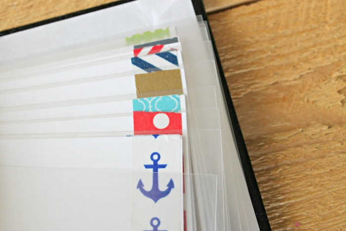 Washi Tape for DIY Autograph Book for Disney
