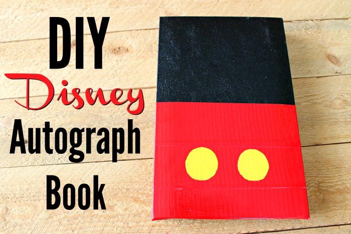 Disney DIY Autograph Book