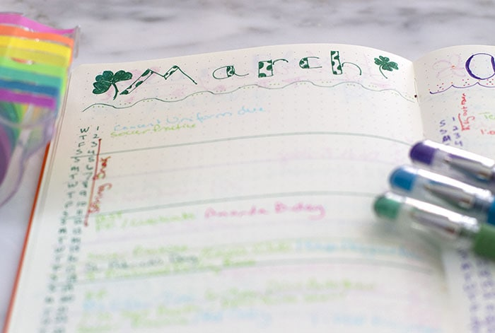 Easy bullet journal future planning logical ideas.