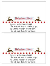 Reindeer food small