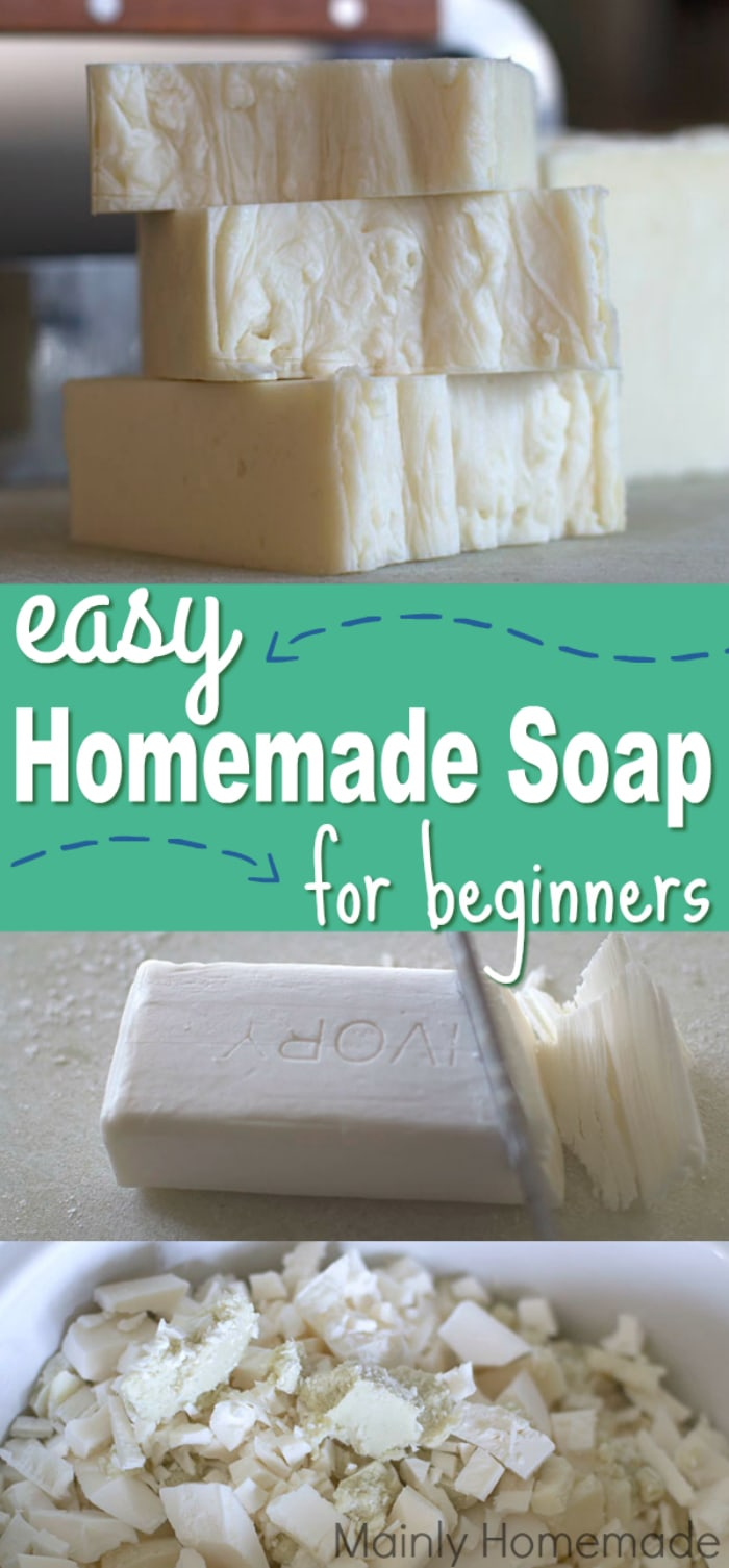 Homemade Hand Milled soap