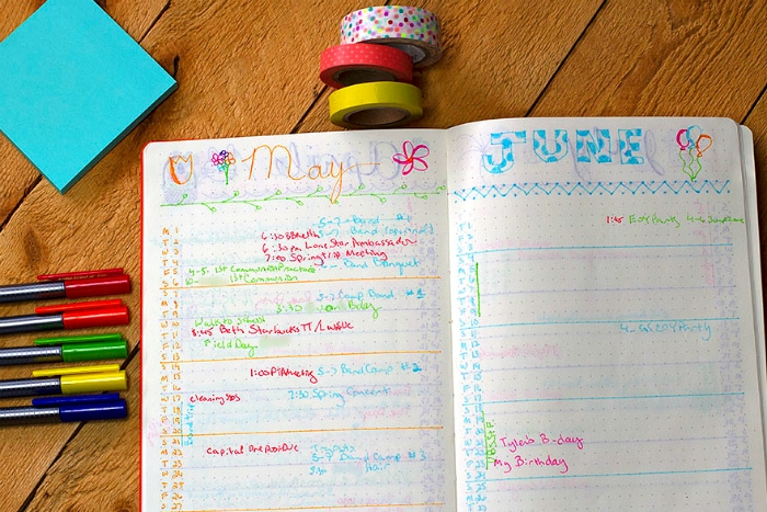 color Code Journal Entry may