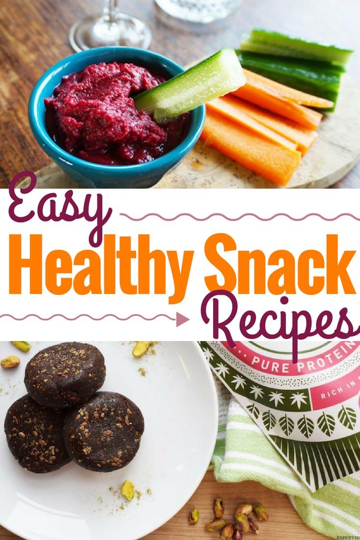 Easy Healthy snack recipes