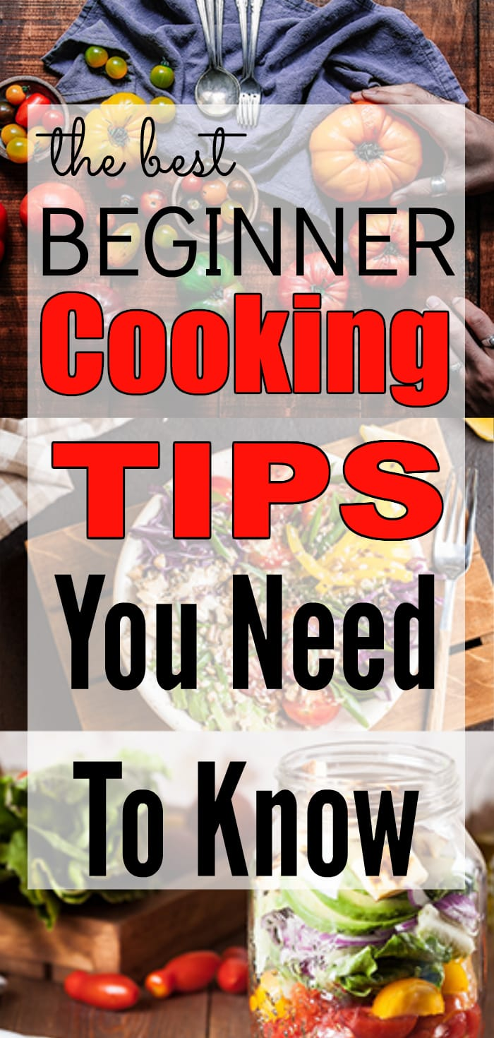 Beginner Cooking Tips You Need