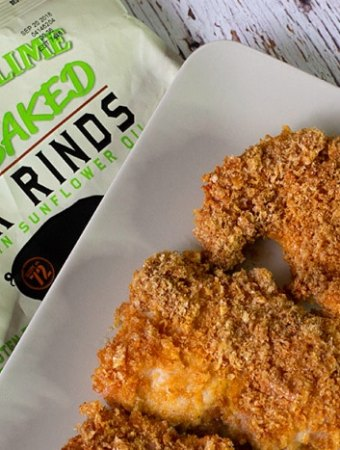 Crispy Cilantro Lime Pork Rind Fried Chicken – Keto Recipe