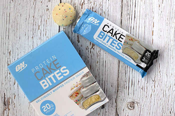 Birthday Cake Protein Bites