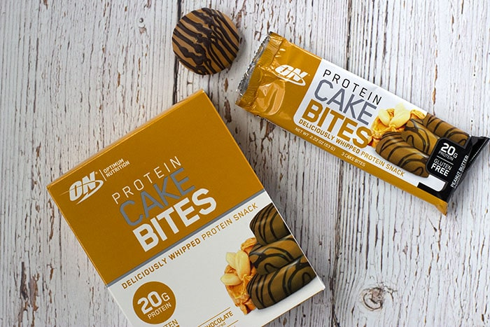 Peanut Butter Protein Cake Bites