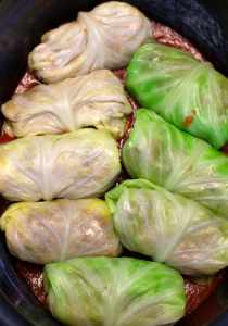 Cabbage rolls in slow cooker Meal Idea