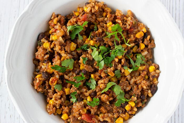 Taco Rice Skillet Meal