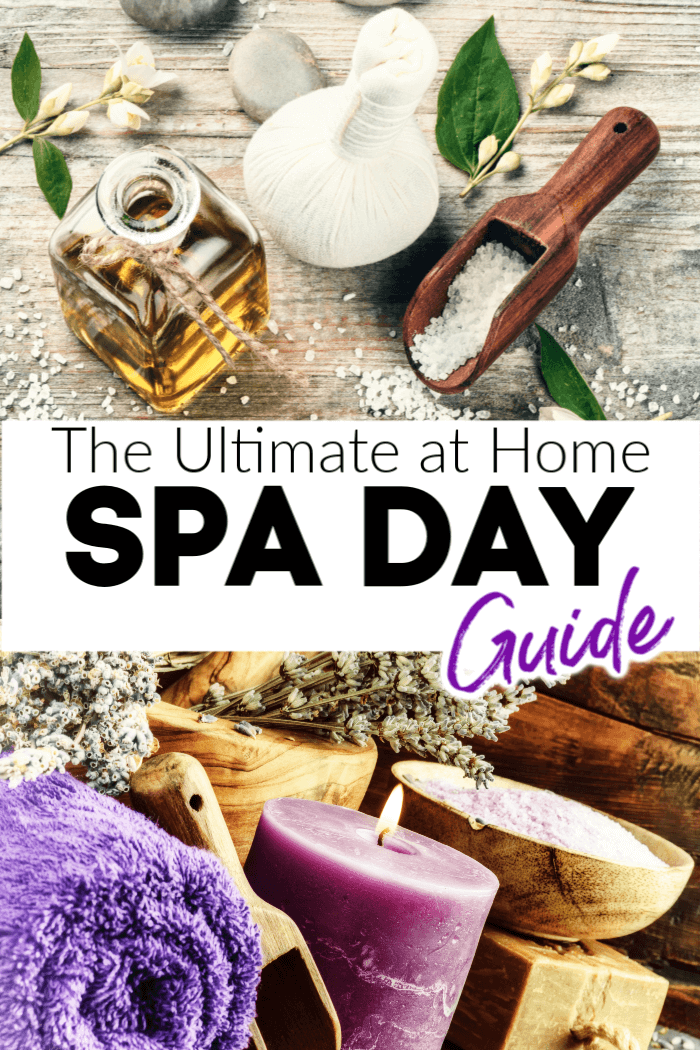 The Ultimate Spa Day at Home to relax