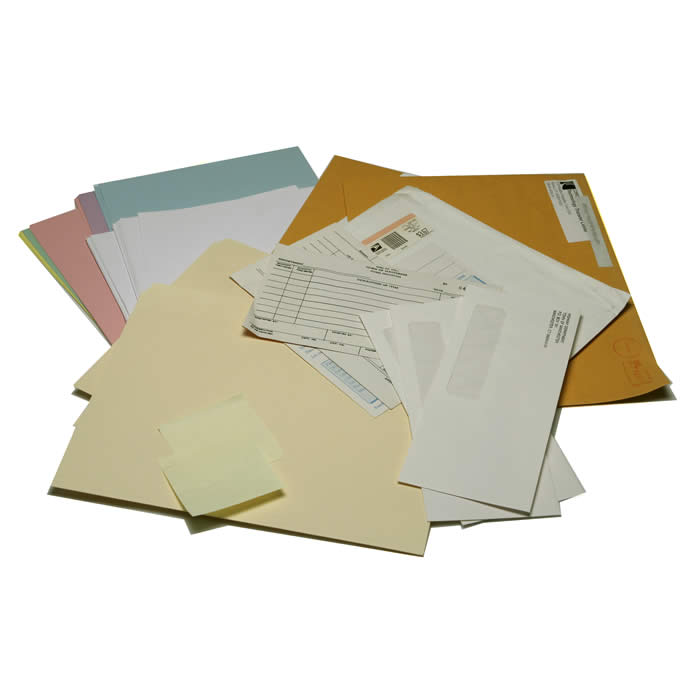 Office Paper: Consists of printed or unprinted office paper, white paper, color paper and envelopes.
