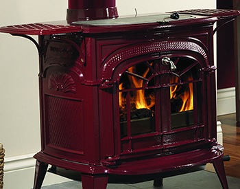 The Traditional Franklin Stove Features A U Shaped Flue Often Called An Inverted Siphon That Draws Hot Gases From Fire And Into Hollow Baffle