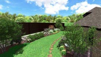 Backyard Garden Bed Design Frisco