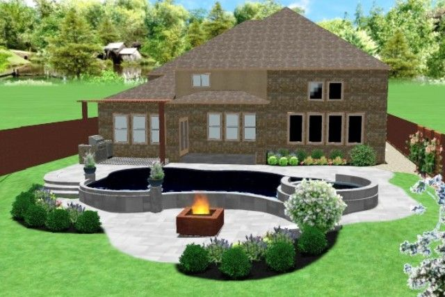 Landscaping Installation Construction Frisco TX