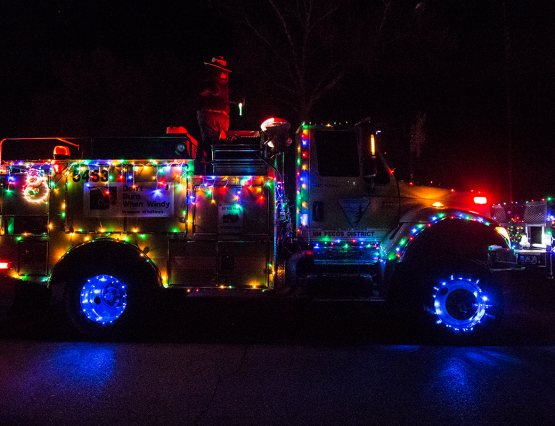 Roswell New Mexico Electric Light Parade