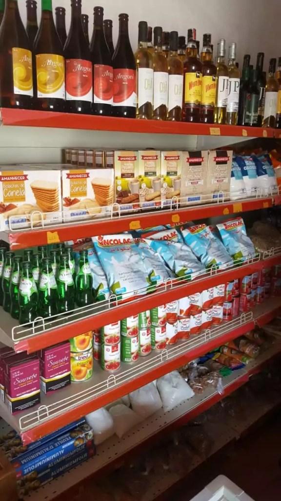 good selection food wine beer at casa blanca minimarket