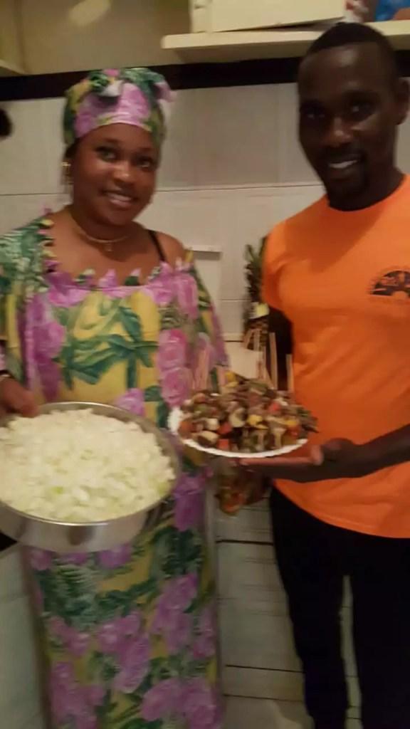 restaurante serigne mbaye maio cabo verde