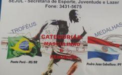 9ª Meia Maratona Internacional da Amizade – Ponta Porã – MS adiada pro dia 01 de dezembro