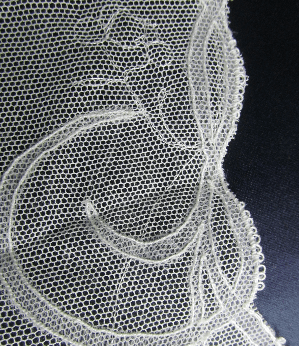 Carrickmacross Lace Commissioned wedding veil edge