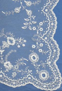 Carrickmacross Lace Veil