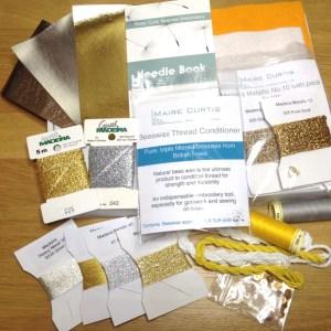 Modern Goldwork Threads Pack